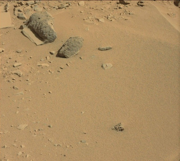 Context image for previous rock/slab formation. Credit: NASA / JPL-Caltech