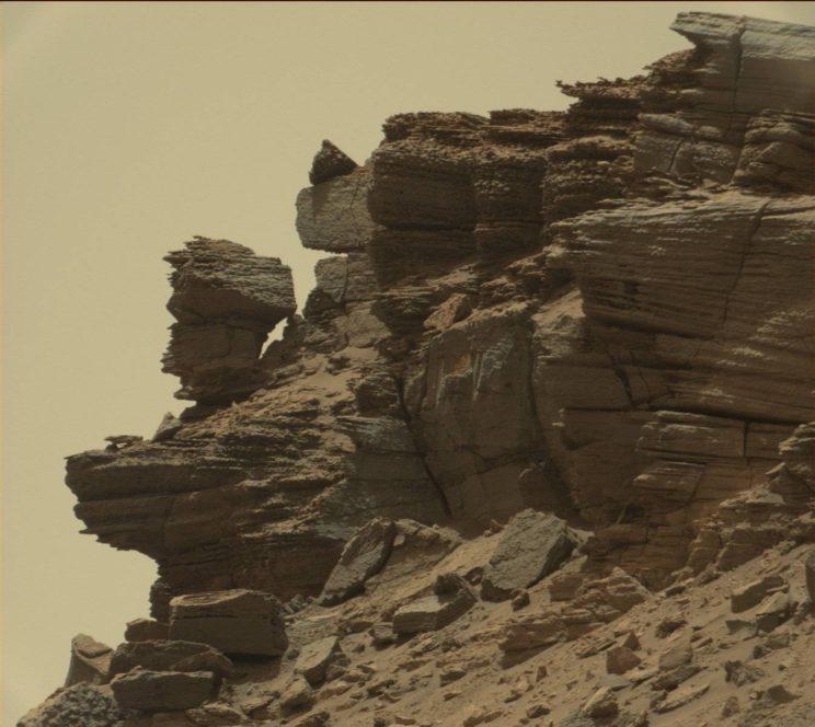 Sol 1433. Photo Credit: NASA/JPL-Caltech/MSSS