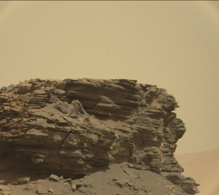 Sol 1436. Photo Credit: NASA/JPL-Caltech/MSSS