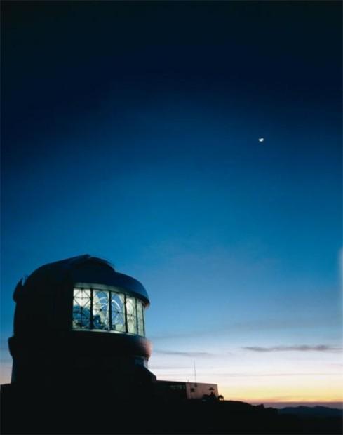 The Gemini South Telescope in Chile. Photo Credit: Gemini Observatory