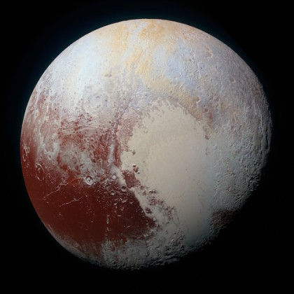 Pluto is a bizarre little world, with evidence for a surprising amount of geological activity, both now and in the past. Photo Credit: NASA/Johns Hopkins University Applied Physics Laboratory/Southwest Research Institute