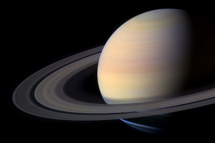 Saturn as seen by the Cassini spacecraft. Analysis of data of Saturn's orbit may provide more evidence for Planet Nine. Photo Credit: NASA/JPL-Caltech