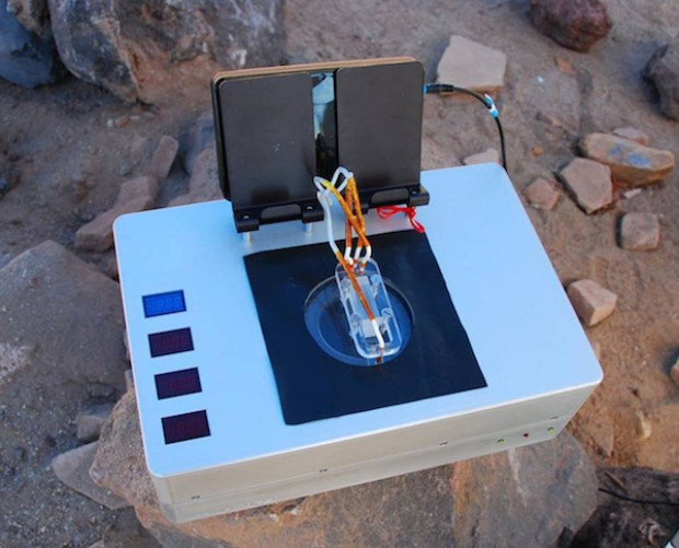 """The """"Chemical Laptop"""" being designed by NASA to help search for evidence of alien life elsewhere in the Solar System. Photo Credit: NASA"""
