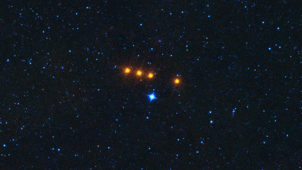 Time-lapse view of the asteroid Euphrosyne as seen by NASA's WISE spacecraft on May 17, 2010. WISE was later renamed to NEOWISE in 2013. Image Credit: NASA/JPL-Caltech