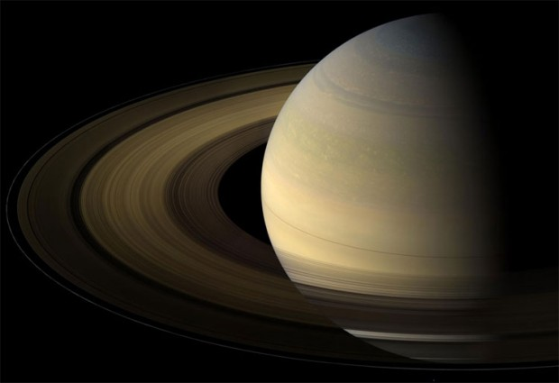 Just like planets and moons, Saturn's rings experience frequent meteor impacts. Credit: NASA / JPL